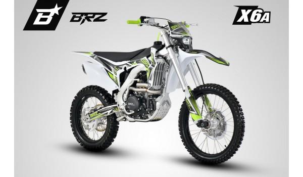 Мотоцикл кроссовый BRZ X6A 250cc