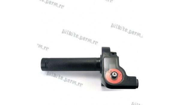 Ручка газа с роликом (алюминий)