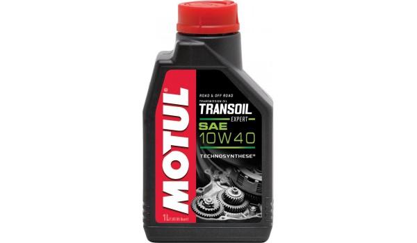 Масло для мото КПП Motul Transoil Expert 10w-40 1л.