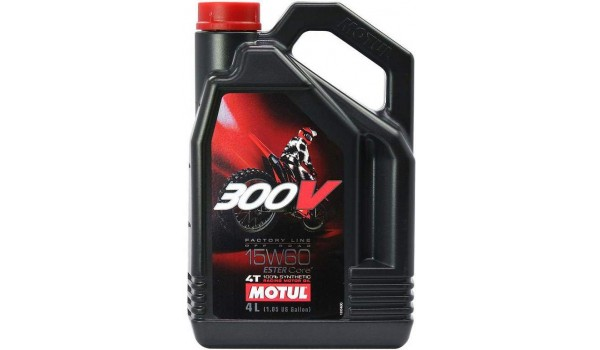 Масло моторное Motul 300 V Off Road 15w-60 4л.