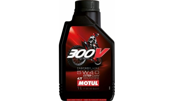 Масло моторное Motul 300 V Off Road 5w-40 1л.