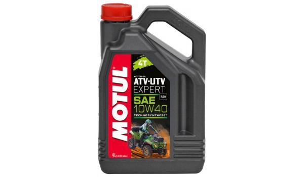 Масло моторное Motul ATV-UTV Expert 4T 10W-40 4л для квадроциклов