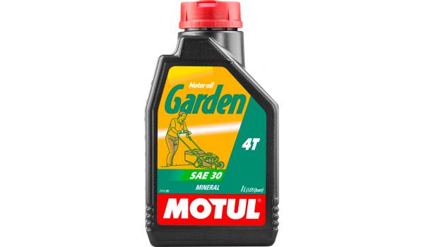 Масло моторное Motul Garden 4T SAE 30 1л для садовой техники